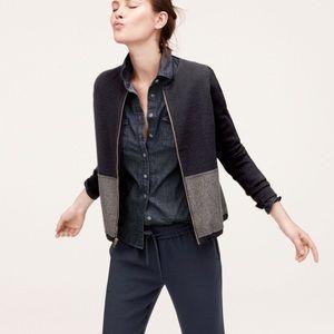 j. crew | two-tone cardigan jacket